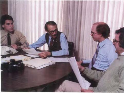 Rene Lopez (far left), Mittel (second from left)